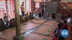 Aid Groups Face Challenges Educating Rohinyga Refugee Children