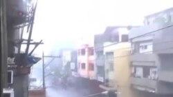 """颱風""""海燕""""侵襲菲律賓中部 三人死亡"""