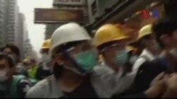 Xảy ra xô xát khi chính quyền Hồng Kông giải tán biểu tình
