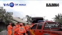 Núi lửa giết chết 15 người tại Indonesia tiếp tục phun trào (VOA60)