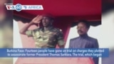 VOA60 Africa - After 34 Years, Murder Trial of Former Burkina Faso President, 12 Others Begins