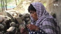 زنی که پس از ده بار درمان قادر به ترک اعتیاد نشد