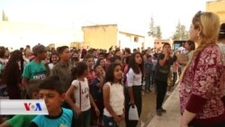 Xwendekarên Efrînî yên Derbider Şahîya Dawîya Sala Xwendinê Dar Xist