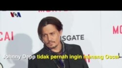 Piala Oscar dan Johnny Depp