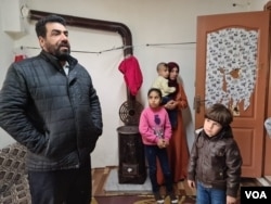 Mohammed al-Awas, 46, says while Turkey is safer than Syria, he has no way to support his family in Istanbul, April 17, 2021. (Heather Murdock/VOA)