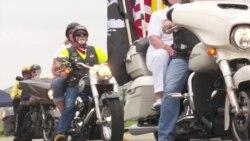Ежегодный съезд байкеров прошел в Вашингтоне