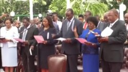 Zimbabwe President Swears in New, Reshuflled Cabinet Members