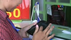 Cambodians Increasingly Use Mobile Devices to Send Money Home