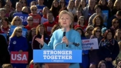 Clinton Says This is the Most Consequential Election of Our Lifetime