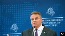 وزیر خارجه لیتوانی