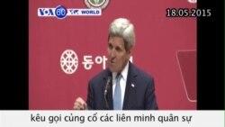Mỹ kêu gọi củng cố liên minh trước hành vi khiêu khích của Bình Nhưỡng (VOA60)