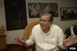 Oscar Rene Vargas, analista político y cofundador del Frente Sandinista. Foto Daliana Ocaña,VOA.