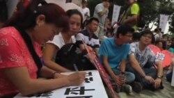ادامه درگیریها ميان مخالفان و موافقان دولت چين در هنگ کنگ