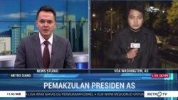Laporan VOA untuk Metro TV: Sidang Dengar Pendapat Upaya Pemakzulan Trump