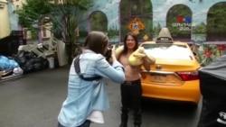 ՀԱՅԱՑՔ ԱՄԵՐԻԿԱ. Ստելլա Գրիգորյան՝ Քաղաքական ծաղրանկարներ, GIF-եր, քաղաքային արվեստ և մի լուսանկարի պատմություն