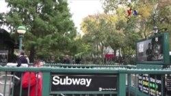Catarsis electoral en el metro de Nueva York