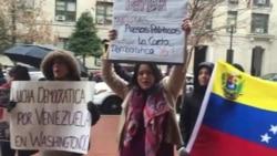 Venezolanos apoyan visita de Pastrana a la CIDH