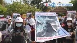Manchetes mundo 19 Fevereiro: Mianmar - manifestante morreu depois de baleada na cabeça em protesto anti-golpe