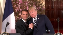 Trump's Interactions With Macron, Merkel Tell Different Stories
