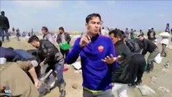 اعتراض ملی پوش سابق فوتبال ساحلی به نبود امکانات در مناطق سیلزده استان گلستان