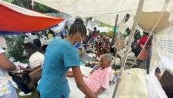 海地地震死亡人數接近二千人