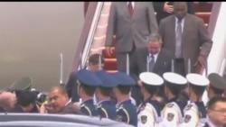 2012-07-04 美國之音視頻新聞: 古巴領袖抵達北京訪問