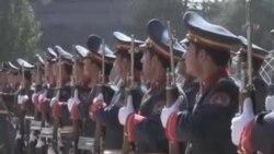 حامد کرزی در مراسم عید شرکت نمود