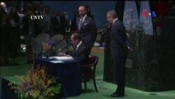 Hơn 170 nước ký kết thỏa thuận khí hậu lịch sử