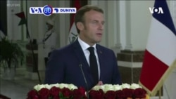 VOA60 DUNIYA: A Iraqi shugaban Faransa Emmanuel Macron, ya gana da takwaransa Barham Salih