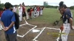 အစပ်ဳိးလာတဲ့ ျမန္မာ့ Baseball အားကစား