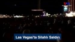 Las Vegas'ta Saldırı Anı