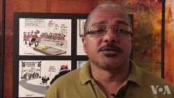 E Agora Angola…O cartoonista Sérgio Piçarra partilha as suas expectativas e preocupações