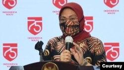 Menteri Tenaga Kerja Ida Fauziyah (foto: Setpres RI)