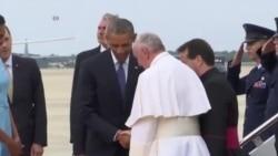 NO COMMENT: Հռոմի պապը ժամանեց Վաշինգտոն