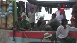 Fishermen From Myanmar, Cambodia And Laos Rescued From Slave Labor​