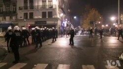 Echauffourées à Bruxelles après la qualification du Maroc (vidéo)