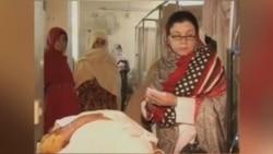 حمله مردان مسلح به یک تیم واکسیناسیون فلج اطفال در پاکستان