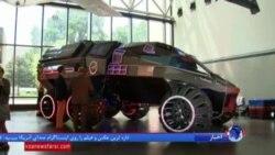 ناسا به نمایش گذاشت: خودرویی که فضانوردان را ر روی مریخ حرکت می دهد