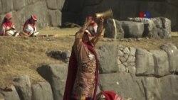 NO COMMENT - Պերու, Ինկերի ժառանգները նշում են ձմեռային արևադարձի օրը