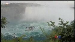 Niagara ေရတံခြန္နဲ႔ လာေရာက္လည္ပတ္သူမ်ား