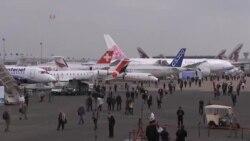 نمایشگاه هواپیمایی پاریس گشایش یافت
