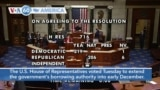 VOA60 Ameerikaa - US House of Representatives Extends Government's Borrowing Authority
