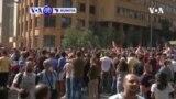VOA60 DUNIYA: An Shiga Kwanaki Biyu Da Zanga-zanga A Fadin Kasar Lebanon