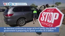 VOA60 Ameerikaa - the US is preparing to spend another $1.5 billion on the Farmers to Families Food Box Program