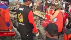 Tử vong động đất Indonesia tăng thành 2.073