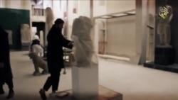 Estado islámico destroza museo