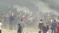 加沙抗議致至少四名巴勒斯坦人喪生