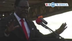 Manchetes africanas 22 junho: Malawi repete eleições presidnciais