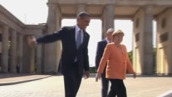 Обама: речь у Бранденбургских ворот