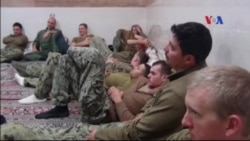 Iran phóng thích 10 thủy thủ Mỹ